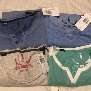 All new w/tags. All 4for $50 or $15ea.